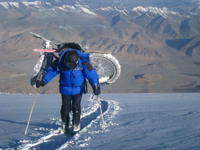China – Eis Kalt auf 7.211 Meter ins Guinness Buch